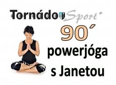 Sobotní 90´ powerjógy s Janetou