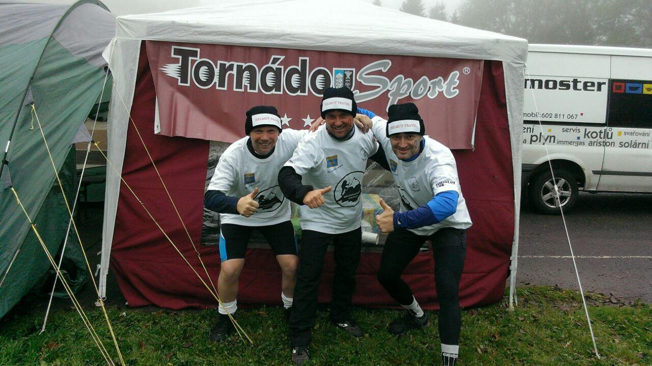 Tornádo Sport - Krušnohorský Everest 2014 - Milan Dinstpír, Tomáš Krátký, Roman Visinger